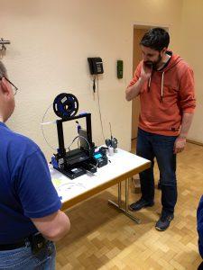 DL1IGC stellt seinen 3D-Drucker vor